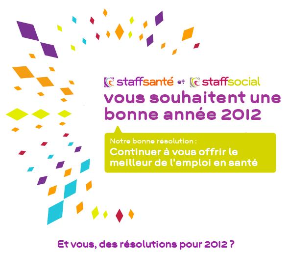 meilleurs voeux pour 2012    et la sant u00e9