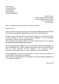 Lettre De Motivation Ibode Staffsanté