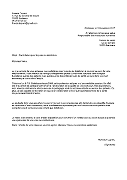 Exemple De Lettre De Motivation Dieteticien Ne Staffsante
